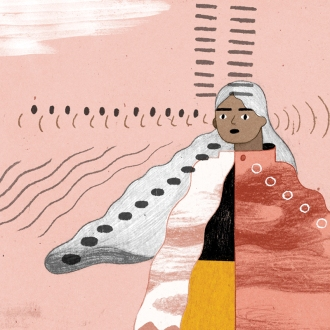 Extract from an illustration by Eleni Kalorkoti