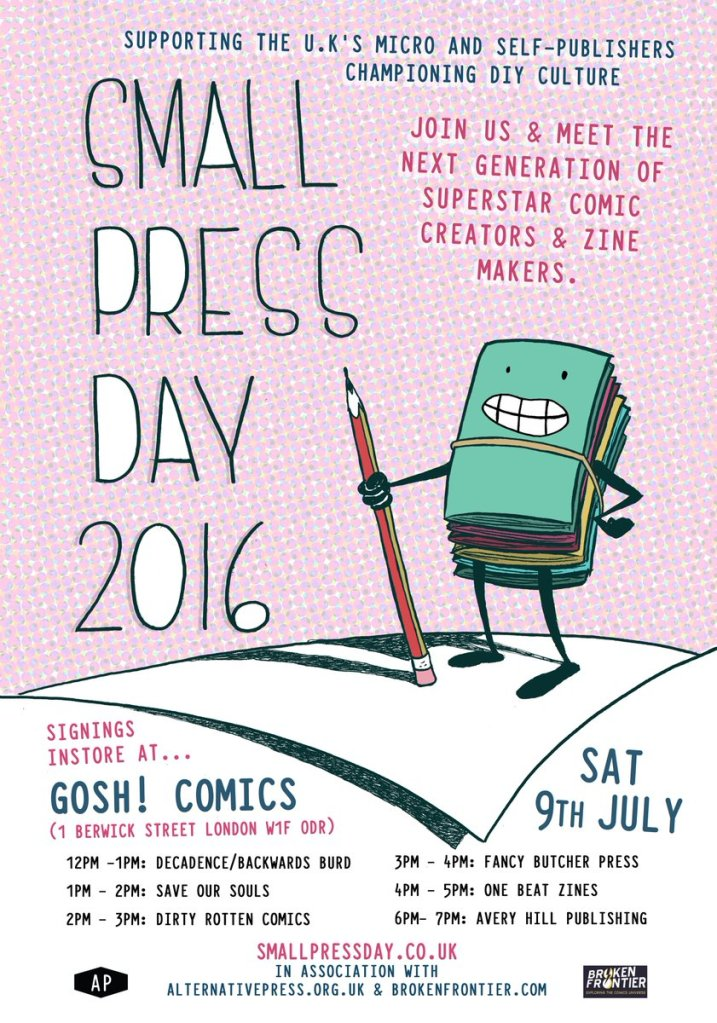 small press day